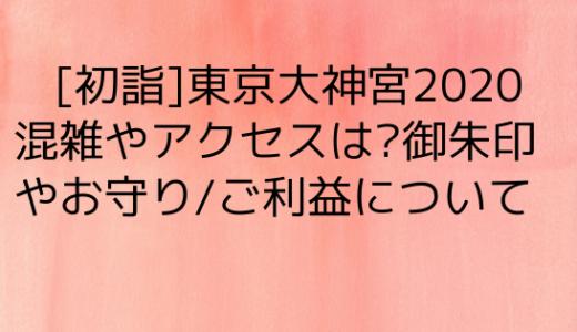 東京大神宮初詣2020混雑やアクセスは?御朱印やお守り/ご利益について
