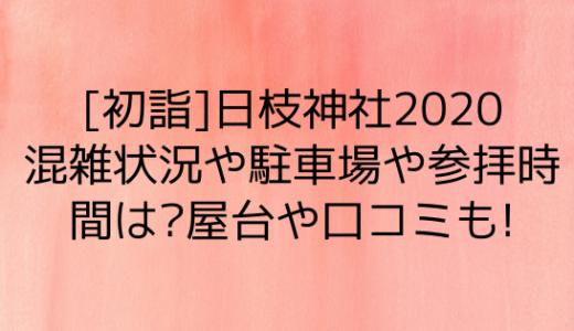 日枝神社初詣2020混雑状況や駐車場や参拝時間は?屋台や口コミも!